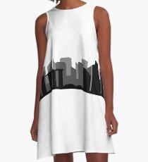 skyline singapore A-Line Dress