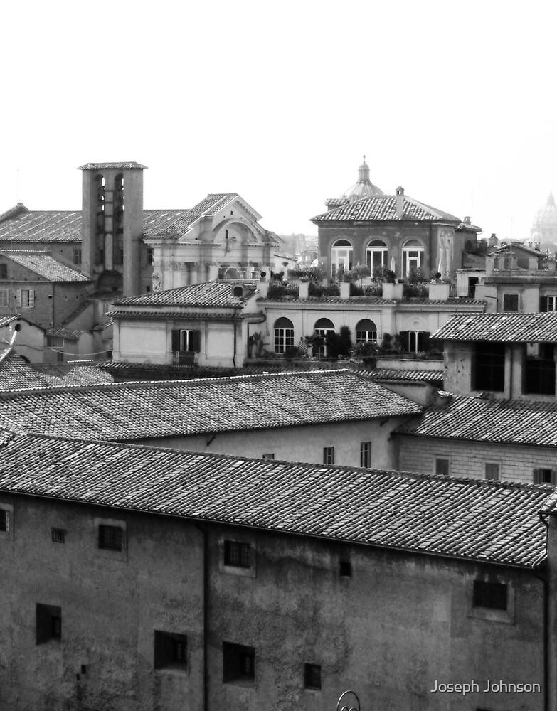 Roman Rooftops by Joseph Johnson