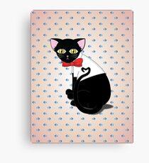 Tam cat Canvas Print