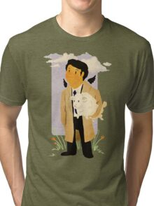 Castiel - Rounding Up the Stray Tri-blend T-Shirt