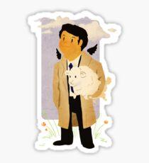 Castiel - Rounding Up the Stray Sticker