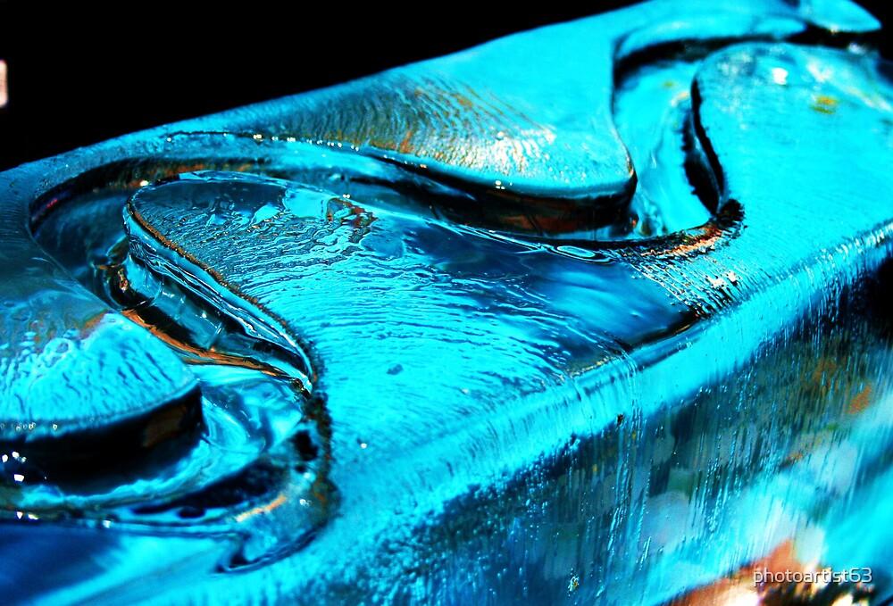 Ice in blue by photoartist63