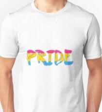 Pansexual Pride Art Typography Unisex T-Shirt