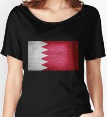 Bahrain Flag Women's Relaxed Fit T-Shirt