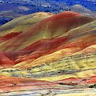 John Day Painted Hills  by aussiedi