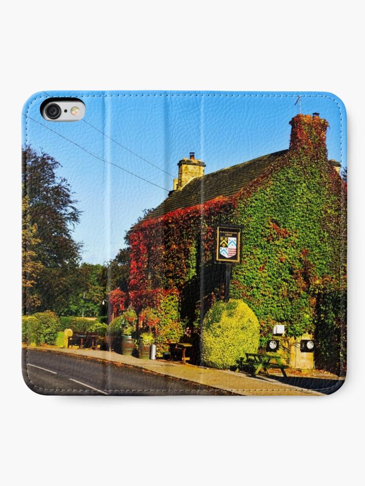 Alternative Ansicht von Herbstlicher Pub .... !! iPhone Flip-Case