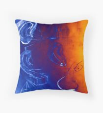 Psychic Social Experiments Throw Pillow