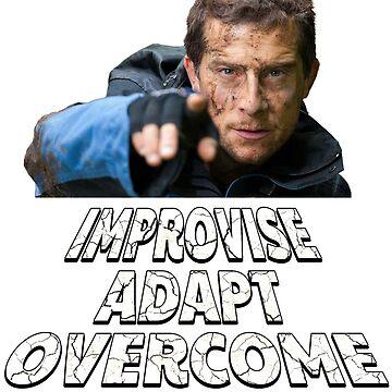 Improvise Adapt Overcome - v2 by dbatista