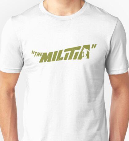 Gangstarr the Milita replica promo print 1998 Noo Trybe T-Shirt