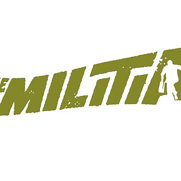 Gangstarr the Milita replica promo imprime 1998 Noo Trybe de TheJBeez
