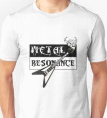 Metal Music Flying V Guitar Resonance T-Shirt