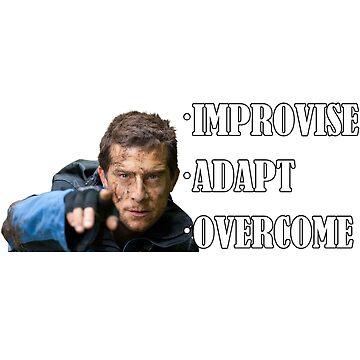 Improvise Adapt Overcome - v3 by dbatista