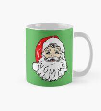 Santa Claus in Red Hat Mug