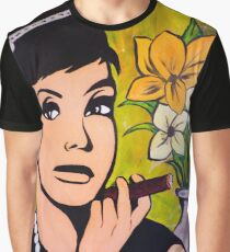 cigar Audrey Graphic T-Shirt