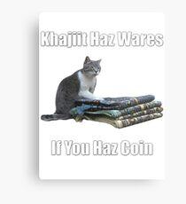 Khajiit haz wares - V.3 classic meme Metal Print