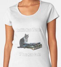 Khajiit haz wares - V.3 classic meme Women's Premium T-Shirt