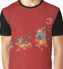 Litten Evolution Graphic T-Shirt