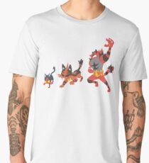 Litten Evolution Men's Premium T-Shirt