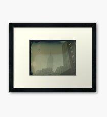 ESB Dry Plate Tintype Photograph Framed Print