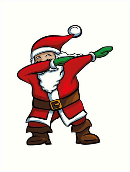 Dabbing Santa T Shirt Funny Santa Claus Christmas Dab Tee By Trendingorigins