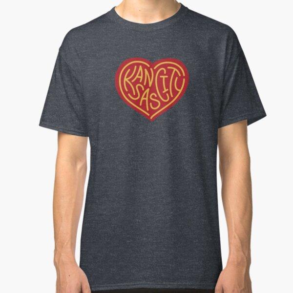 Love KC (red x yellow) Classic T-Shirt