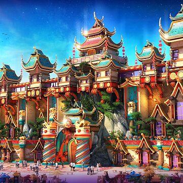 China painted in by JustusHochmund
