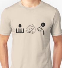 Interactive pictogram game tshirt for family and friends Unisex T-Shirt
