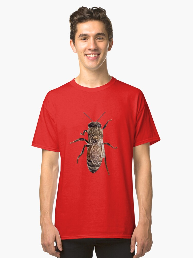 Worker Honey Bee 07 Classic T-Shirt Front