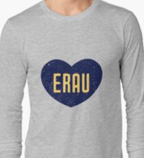 Embry-Riddle Aeronautical University Heart Long Sleeve T-Shirt