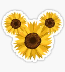 Sunflower Ears Sticker