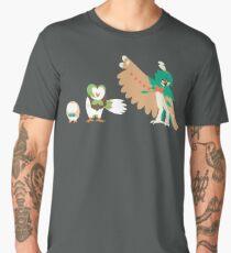 Rowlet Evolution Men's Premium T-Shirt