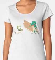 Rowlet Evolution Women's Premium T-Shirt