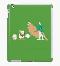 Rowlet Evolution iPad Case/Skin