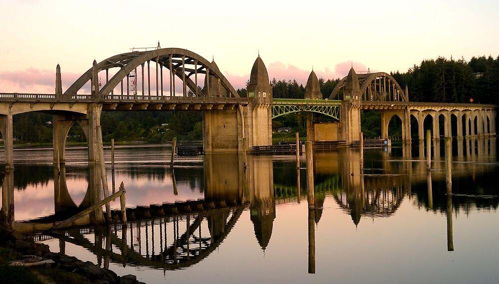 Florence Oregon Bridge by Duncan Biggs