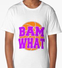 Bam What Basketball Long T-Shirt