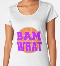Bam What Basketball Women's Premium T-Shirt