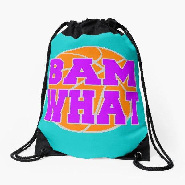 Bam What Basketball Drawstring Bag