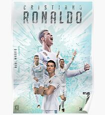 Cristiano Ronaldo - Real Madrid CR7 Poster