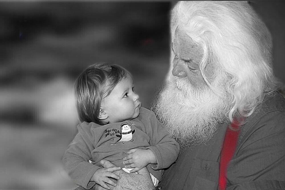 Santa by Liz Wear