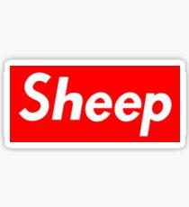 Supreme Sheep Box Logo Sticker