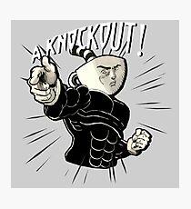 Cuphead Knockout JoJo! Photographic Print