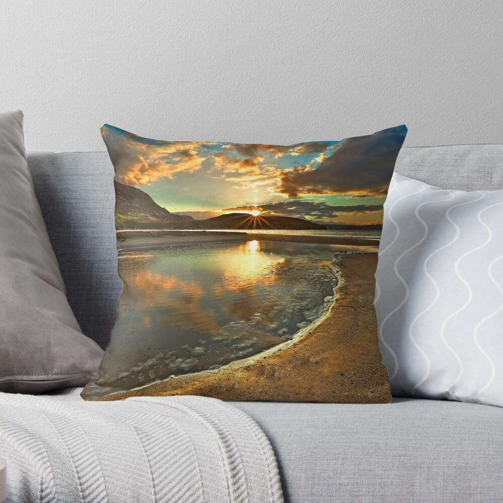 Dunree Sunset Throw Pillow