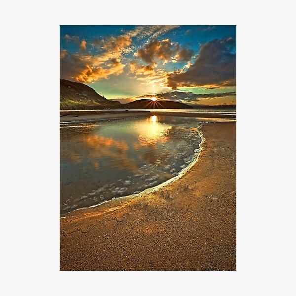 Dunree Sunset Photographic Print