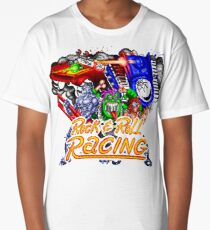 Rock n' Roll Racing (SNES Title Screen) Long T-Shirt