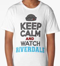KEEP CALM AND WATCH RIVERDALE (Riverdale) Long T-Shirt