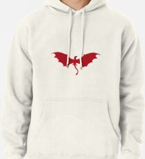 Red dragon Pullover Hoodie