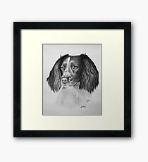 """""""The Sweetest Face"""" Framed Print"""