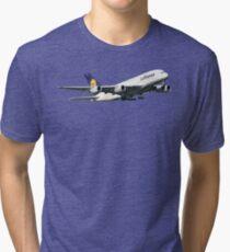 A380 Lufthansa Tri-blend T-Shirt