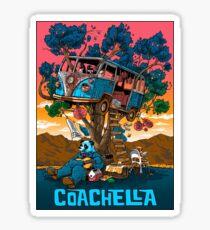 Coachella Sticker