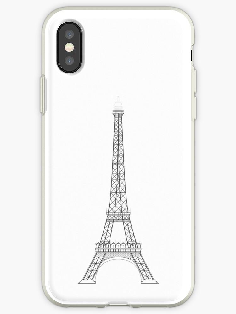 Eiffel Tower Paris Illustration by JHMimaging